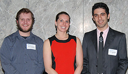 UIC College of Engineering MIE Graduate Students Sweep ASHRAE Illinois Chapter 2014 Scholarships!�